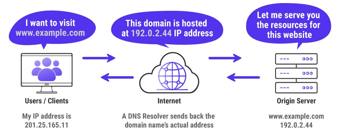 Infografía que muestra cómo se navega normalmente en Internet