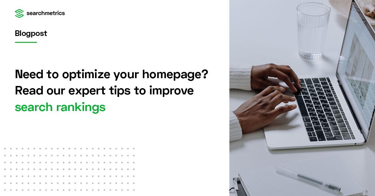 Cómo optimizar su página de inicio para mejorar las clasificaciones de búsqueda