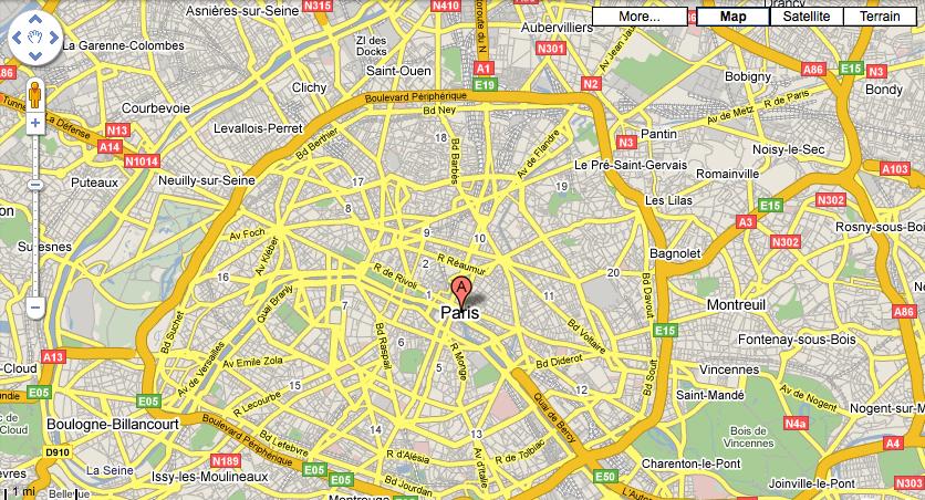 Conoce al hombrecito naranja: Google hace que StreetView sea más grande y más fácil de usar