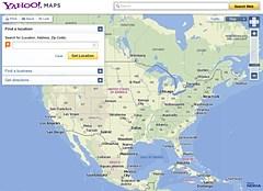 Desarrollado por Nokia, el nuevo Yahoo Maps se pone en marcha