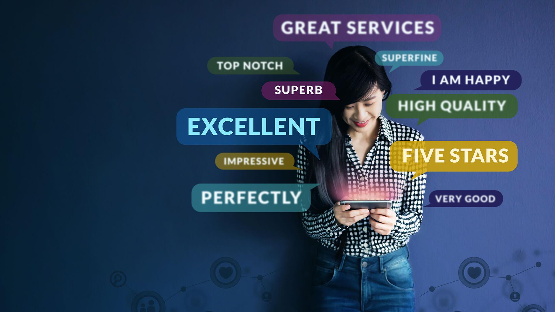 El auge de los amplificadores de reseñas de clientes