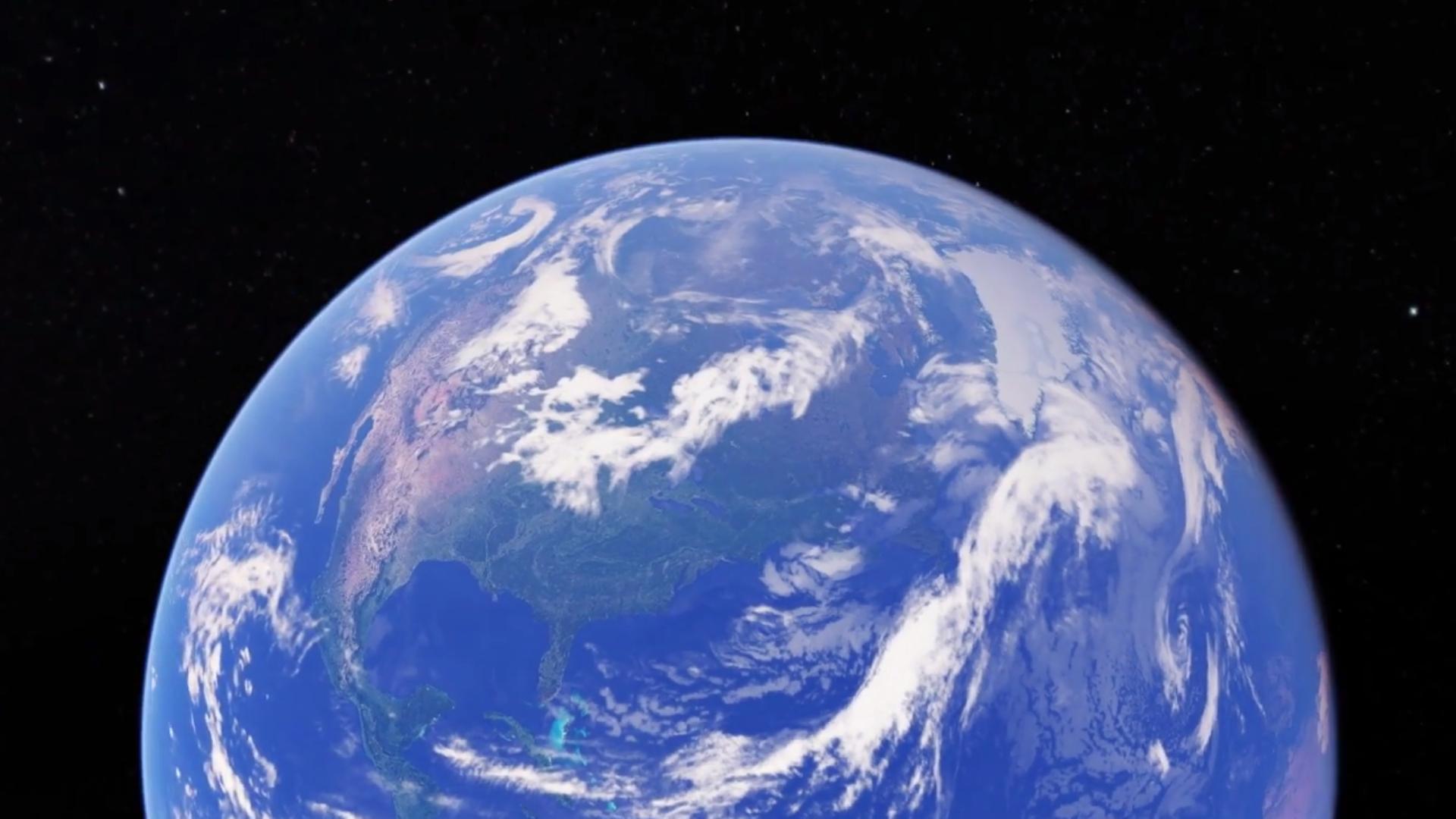 """El nuevo Google Earth ofrece visitas guiadas, imágenes en 3D y la función """"Me siento afortunado"""""""