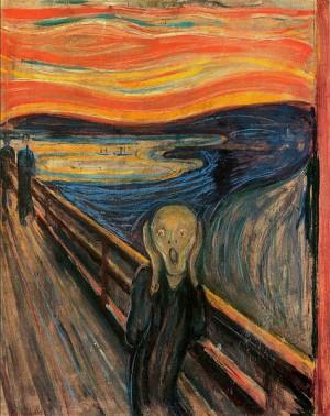 El grito, de Edvard Munch, 1893