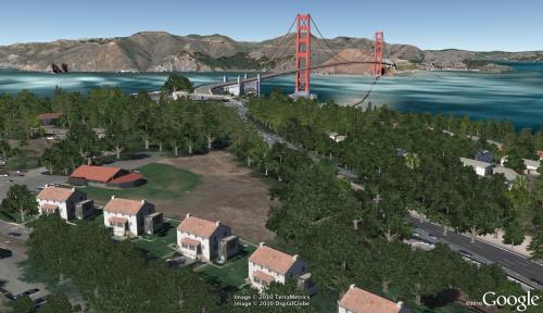 Espacio en la calle con Google Earth 6: más árboles en 3D