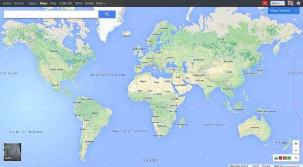 Nueva interfaz de usuario de Google Maps