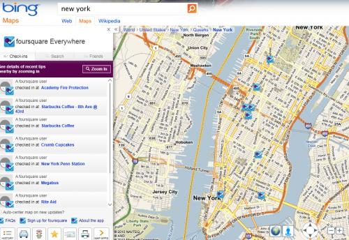 """Foursquare en conversaciones con """"Todos"""" para mejorar la búsqueda con sus datos"""