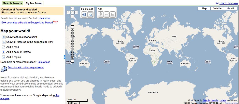 Google Maps: actualizaciones de tránsito, creador de mapas en 27 idiomas