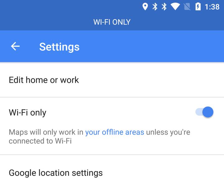 configuración-solo-wifi-de-google-maps-android