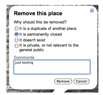 "Google Maps permite a terceros ""cerrar"" negocios locales"