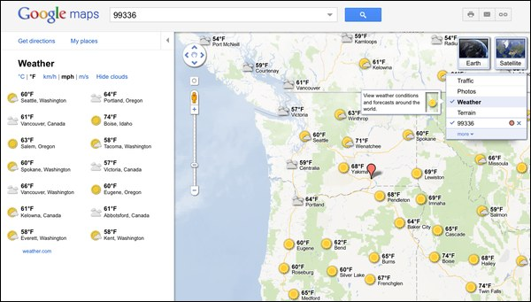 google-maps-weather