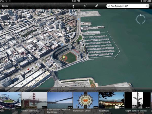 Google actualiza Earth para iOS con más 3D y agrega la ubicación predeterminada de la ciudad a los mapas de PC