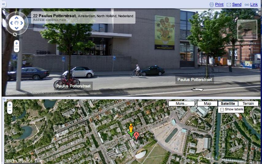 Google agrega más vistas de la calle en el Reino Unido y los Países Bajos, el directorio canadiense ofrece una 'vista de la calle' diferente