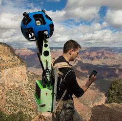 Google mapeando el interior del Gran Cañón con cámaras Street View