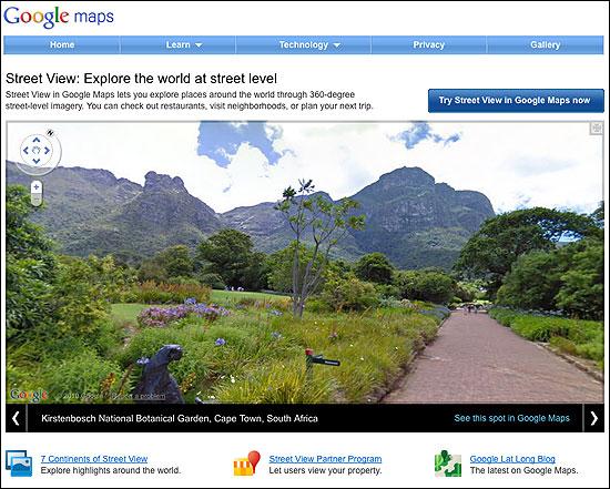 Google relanza el sitio web de Street View