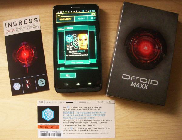 Ingress viene precargado en los teléfonos Droid MAXX