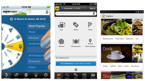 aplicaciones de búsqueda vertical local