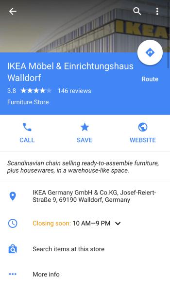 buscar artículos en esta tienda anunciantes de inventario local de google