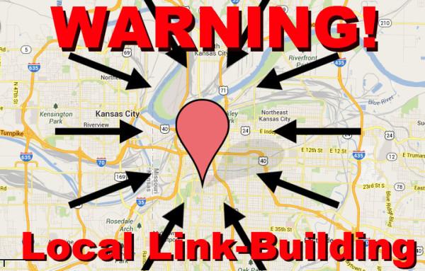 Advertencia: creación de enlaces locales