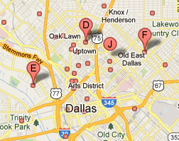 Cómo se muestra una empresa sin dirección en Google Maps