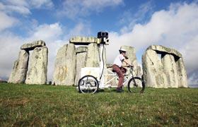 Street View en Stonehenge