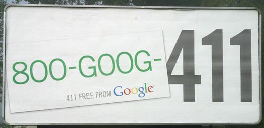 Goog411 Billboard