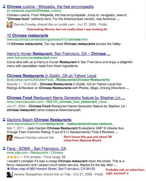 Las conexiones de Google Plus son los nuevos enlaces