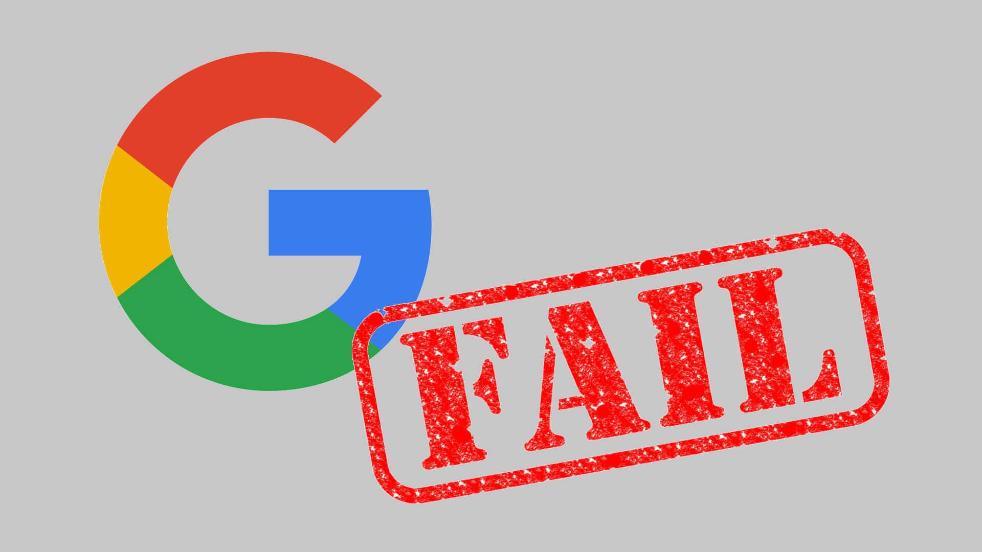Las publicaciones de Google se rechazan por incumplimiento de las pautas de imágenes