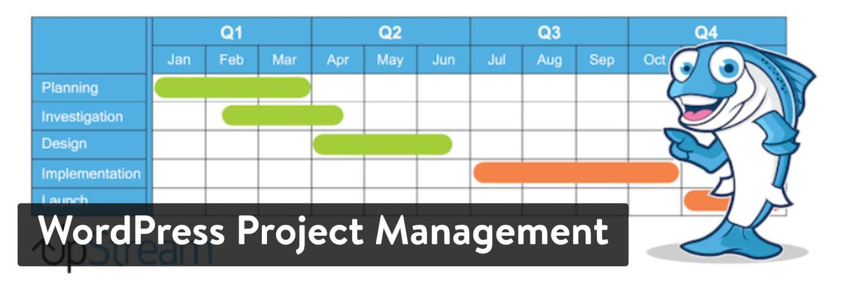 Complemento de gestión de proyectos de WordPress