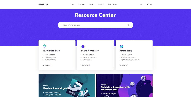 Tipos de archivo de imagen: kinsta resource center png image