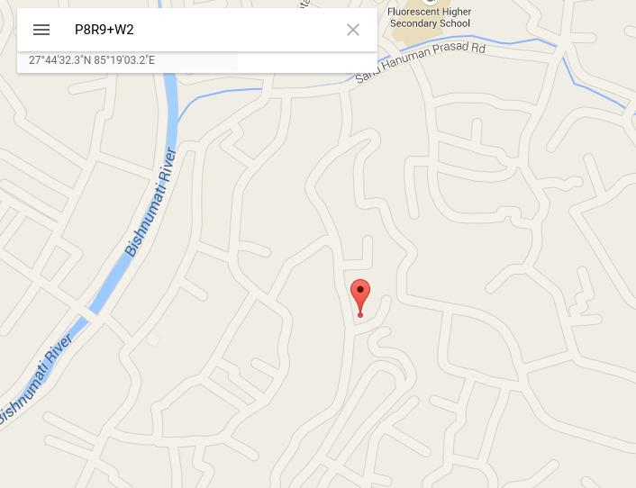 Google Maps plus códigos