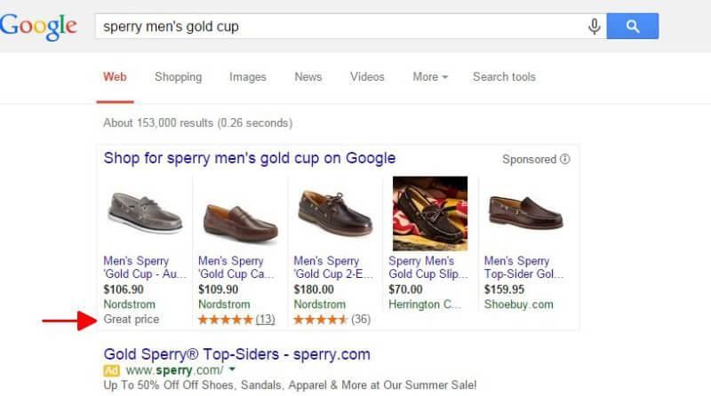 gran precio probando google adwords pla