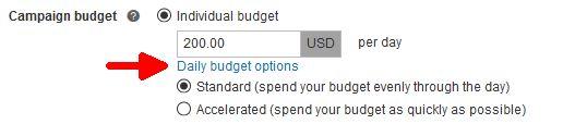 Opciones de presupuesto diario de campaña en Microsoft Advertising