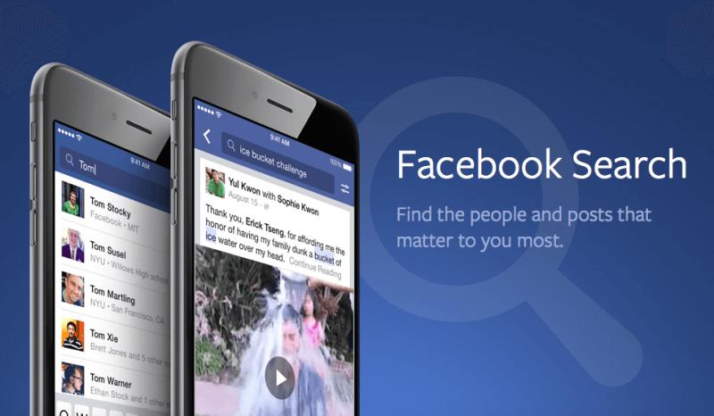 Búsqueda de Facebook
