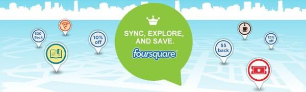 Ofertas especiales de Foursquare y American Express lanzadas a nivel nacional