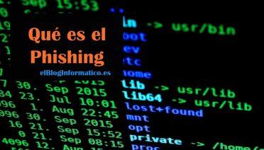que es el Phishing
