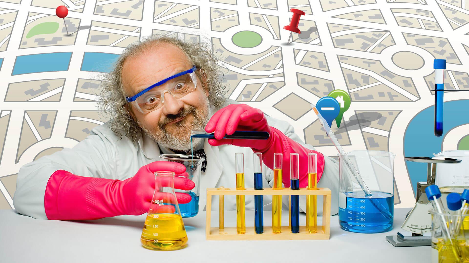 Sea un científico loco para tener más éxito en el SEO local