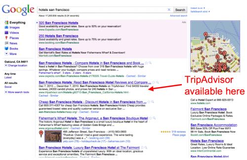 TripAdvisor bloquea a Google: ¿el inicio de una tendencia más grande?