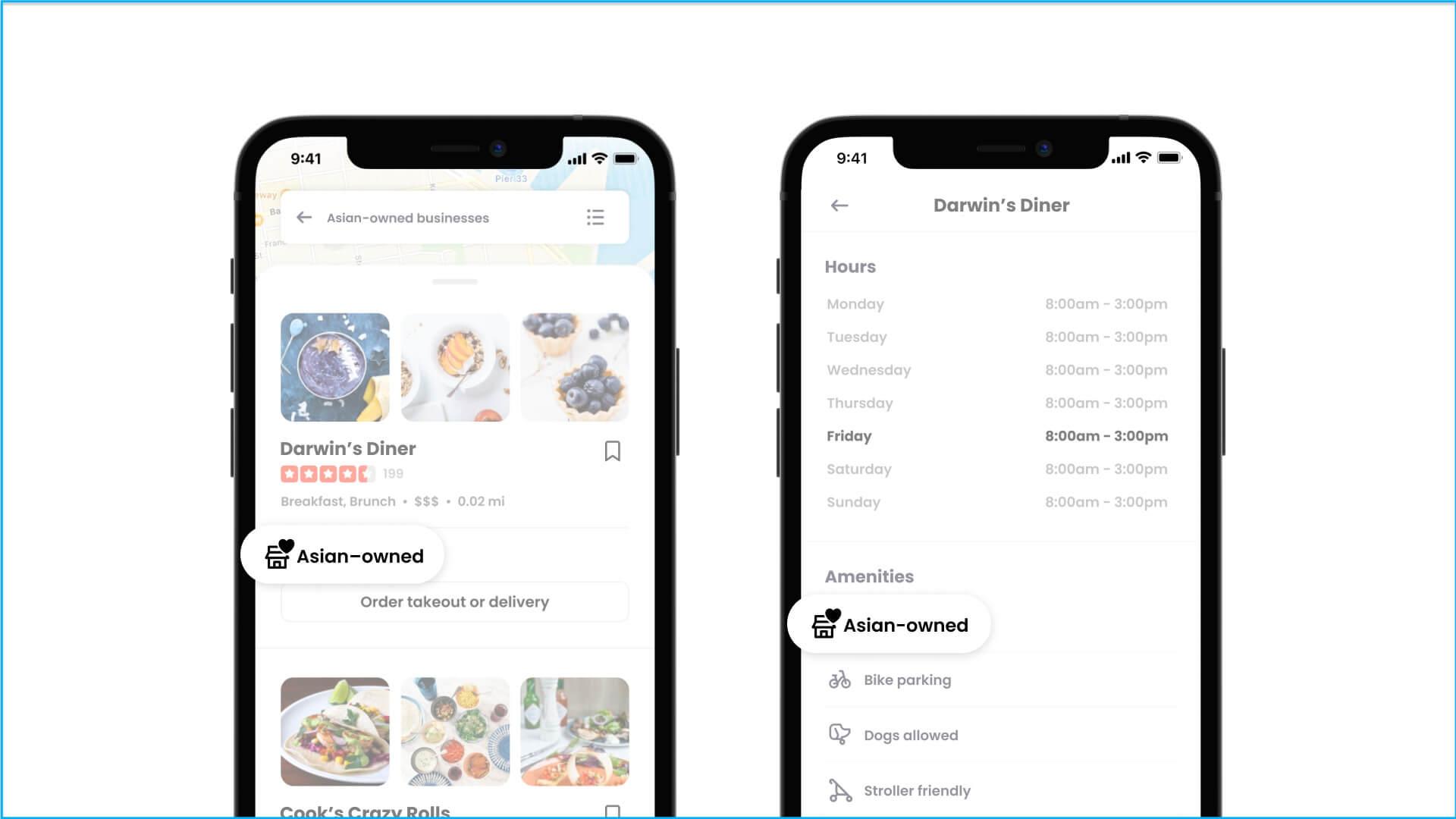 Yelp introduce un atributo de perfil de empresa de propiedad asiática que se puede buscar
