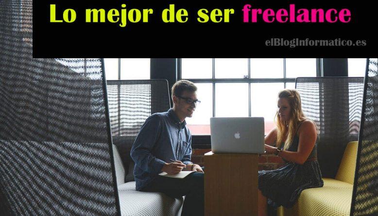 lo mejor de ser freelance